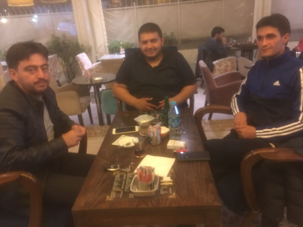 Ahmet Tuncer, Ertuğrul Kula  ve Mehmet Ünal dostluğu