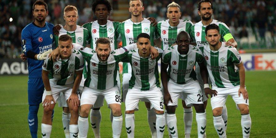 Atiker Konyaspor-Salzburg: 0-1