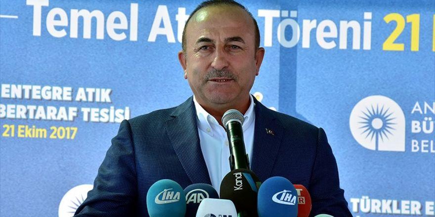 Dışişleri Bakanı Çavuşoğlu: Abd İle Yaşanan Vize Sorununda Olumlu Bir Hava Esiyor