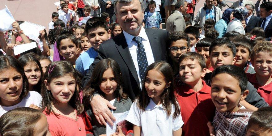 Konya Büyükşehir'den eğitim yardımı