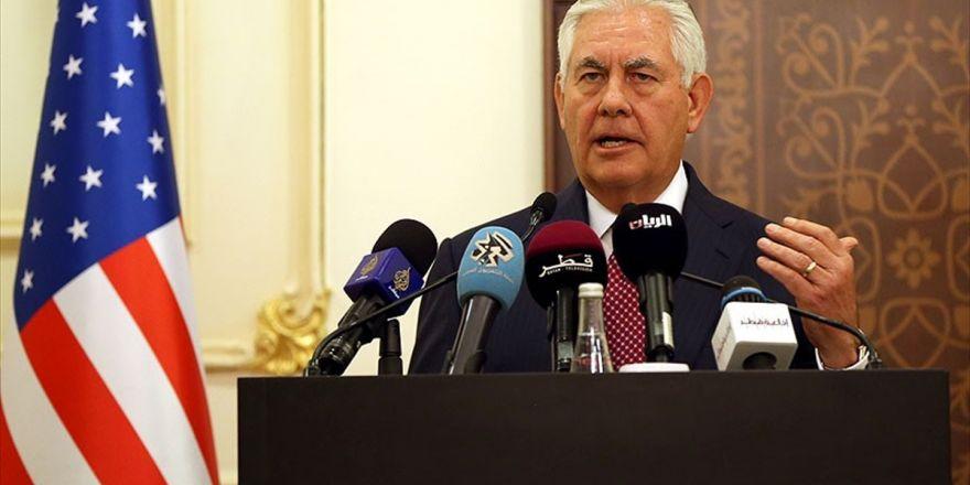 Irak'tan Tillerson'a 'Yabancı Savaşçılar' Tepkisi