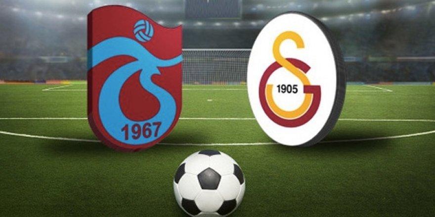 Trabzonspor ile Galatasaray 124. Randevuya Çıkıyor