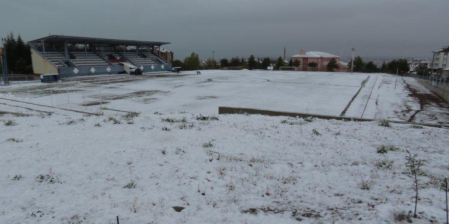 Beyşehir'de kar yağışı