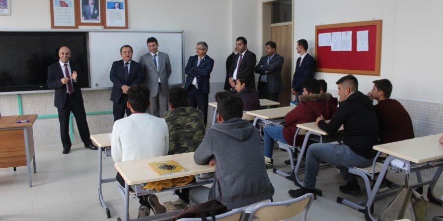 Beyşehir Anadolu İmam Hatip Lisesi'ne anlamlı ziyaret