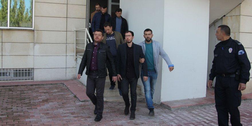 Konya'da 61 şüpheliden 28'i tutuklandı