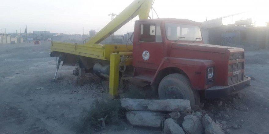 Rakka'daki kamyonla ilgili açıklama