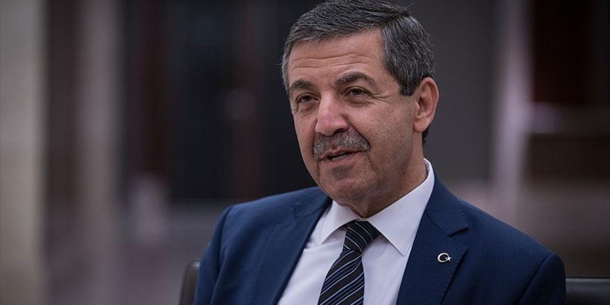 Kktc Dışişleri Bakanı Ertuğruloğlu: Rum Tarafı Müzakere Süreci Boyunca Hiçbir Açılım Yapmadı
