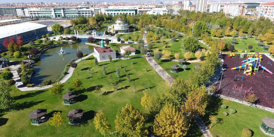 Karatay'ın parkları baharda çiçek açacak