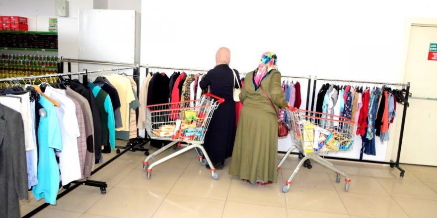 Meram Kadın Meclisi'nden giysi bağış kampanyası