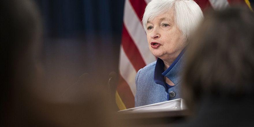Fed Başkanı Yellen'dan İstifa Açıklaması