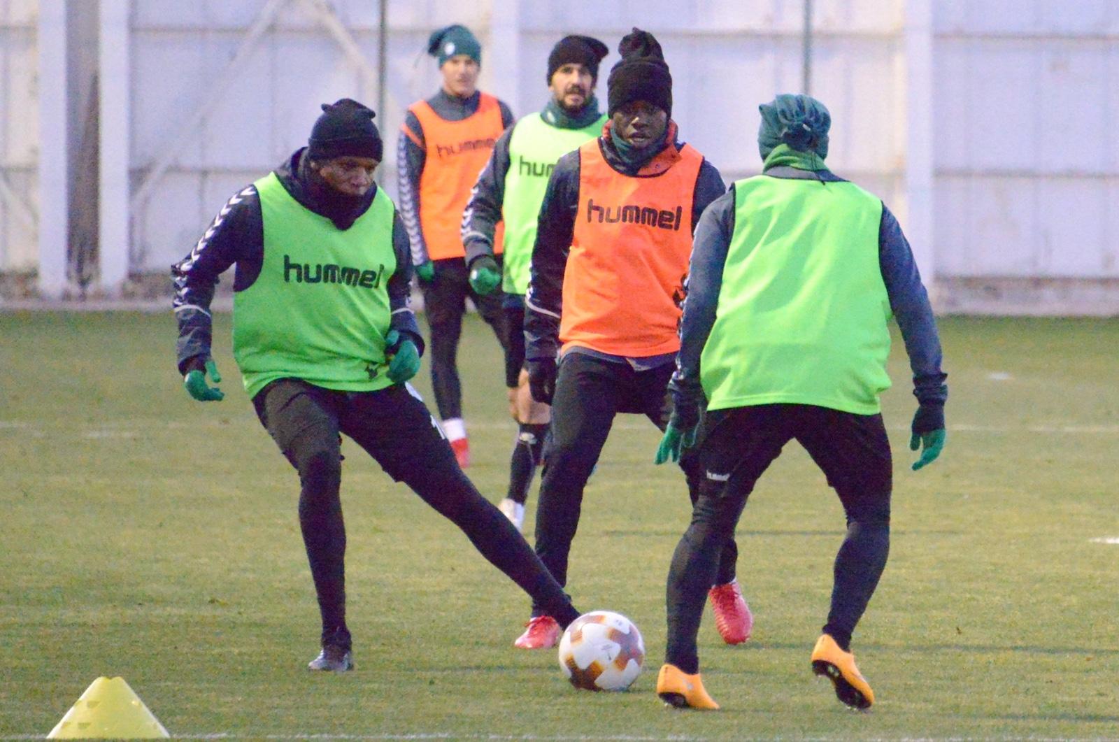 Atiker Konyaspor'da Olympique Marsilya Maçı Hazırlıkları