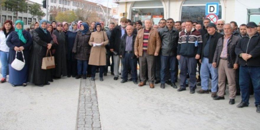 AK Parti Seydişehir'de İmza Kampanyası