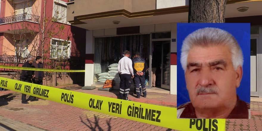Akşehir'de yaşlı adam iş yerinde ölü bulundu