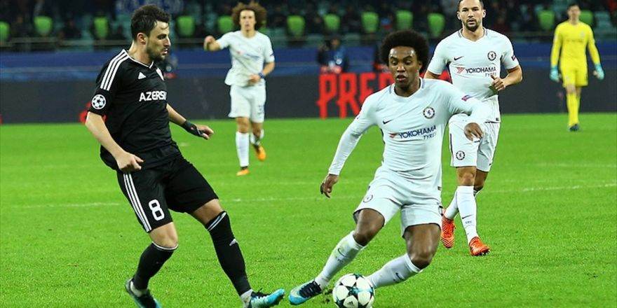 Karabağ Sahasında Chelsea'ye Mağlup Oldu