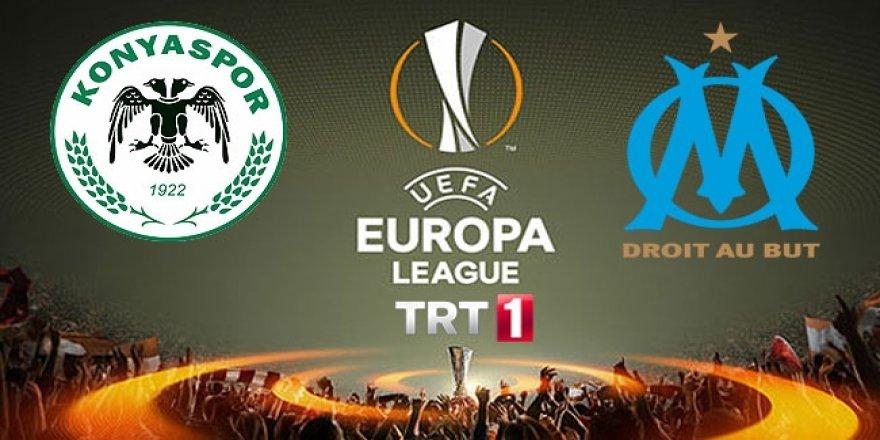 Atiker Konyaspor-Marsilya maçı 21.00'da