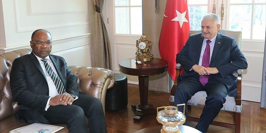 Başbakan Yıldırım, Kongo Demokratik Cumhuriyeti Başbakan Yardımcısını Kabul Etti