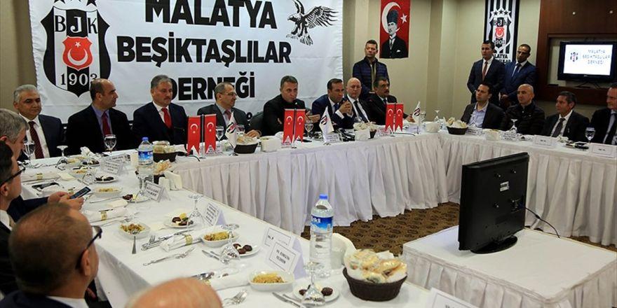 Beşiktaş Kulübü Başkanı Orman: Şampiyonlar Ligi'nde Elde Ettiğimiz Başarının Gururunu Yaşıyoruz