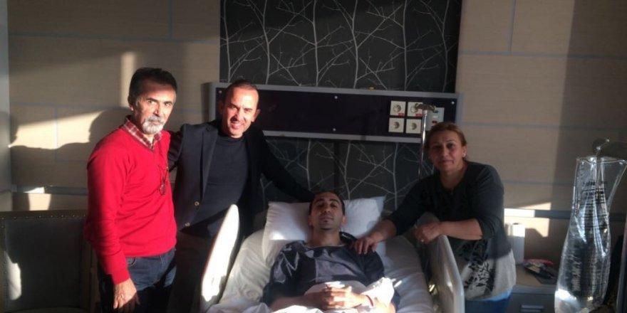 Mehmet Özdilek'in yardımcısı aşil tendomunu yırttı