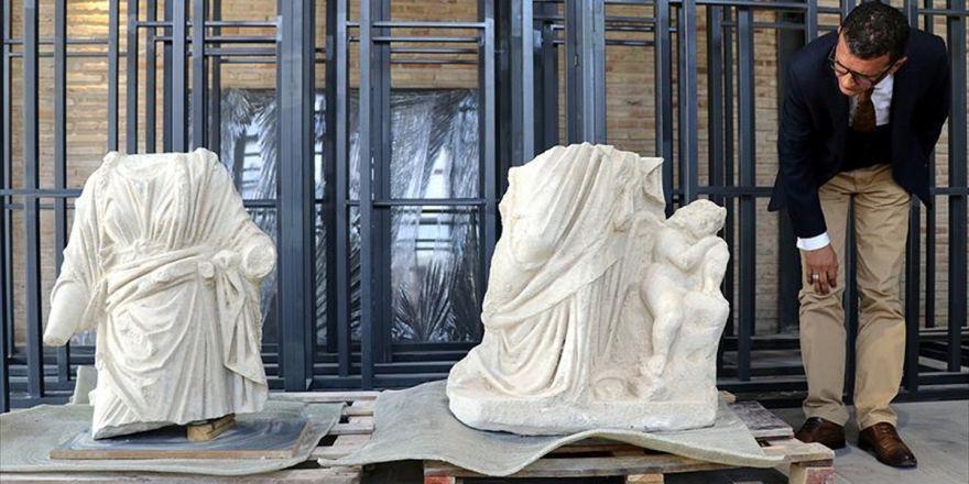 Anavarza Antik Kenti'nde 'Hygieia Ve Eros' Heykeli Bulundu