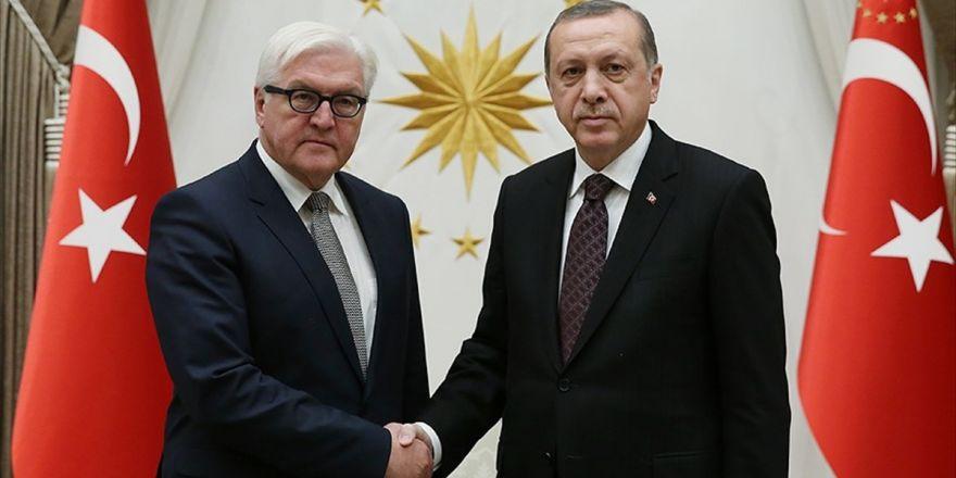 Cumhurbaşkanı Erdoğan, Steinmeier İle Suriye'yi Görüştü