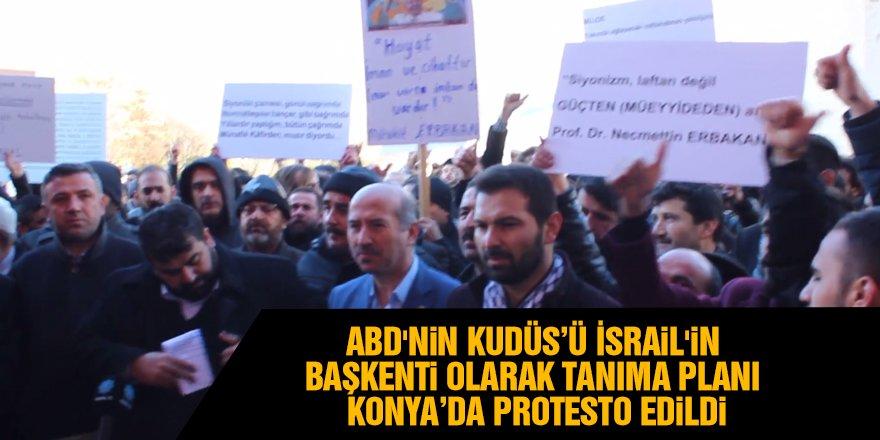 ABD'nin Kudüs'ü İsrail'in Başkenti Olarak Tanıma Planı Protesto Edildi