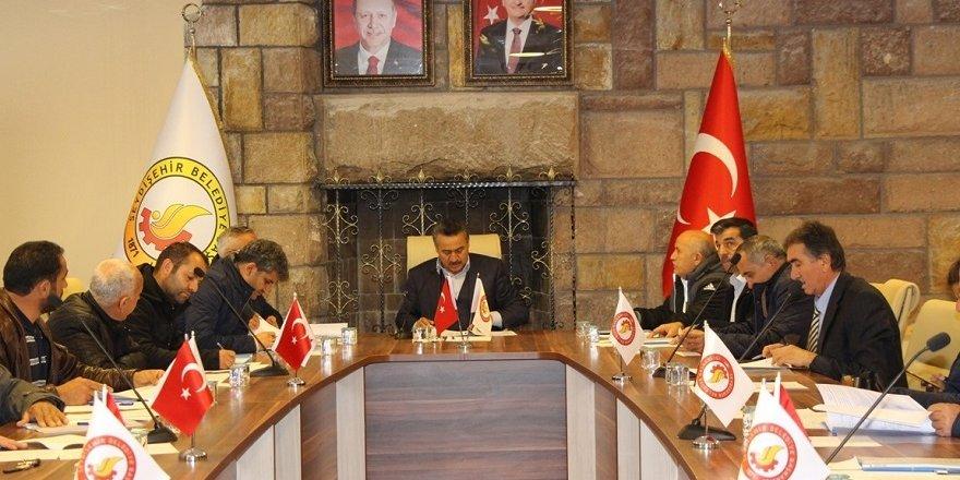 Seydişehir'de aralık ayı meclis toplantısı yapıldı