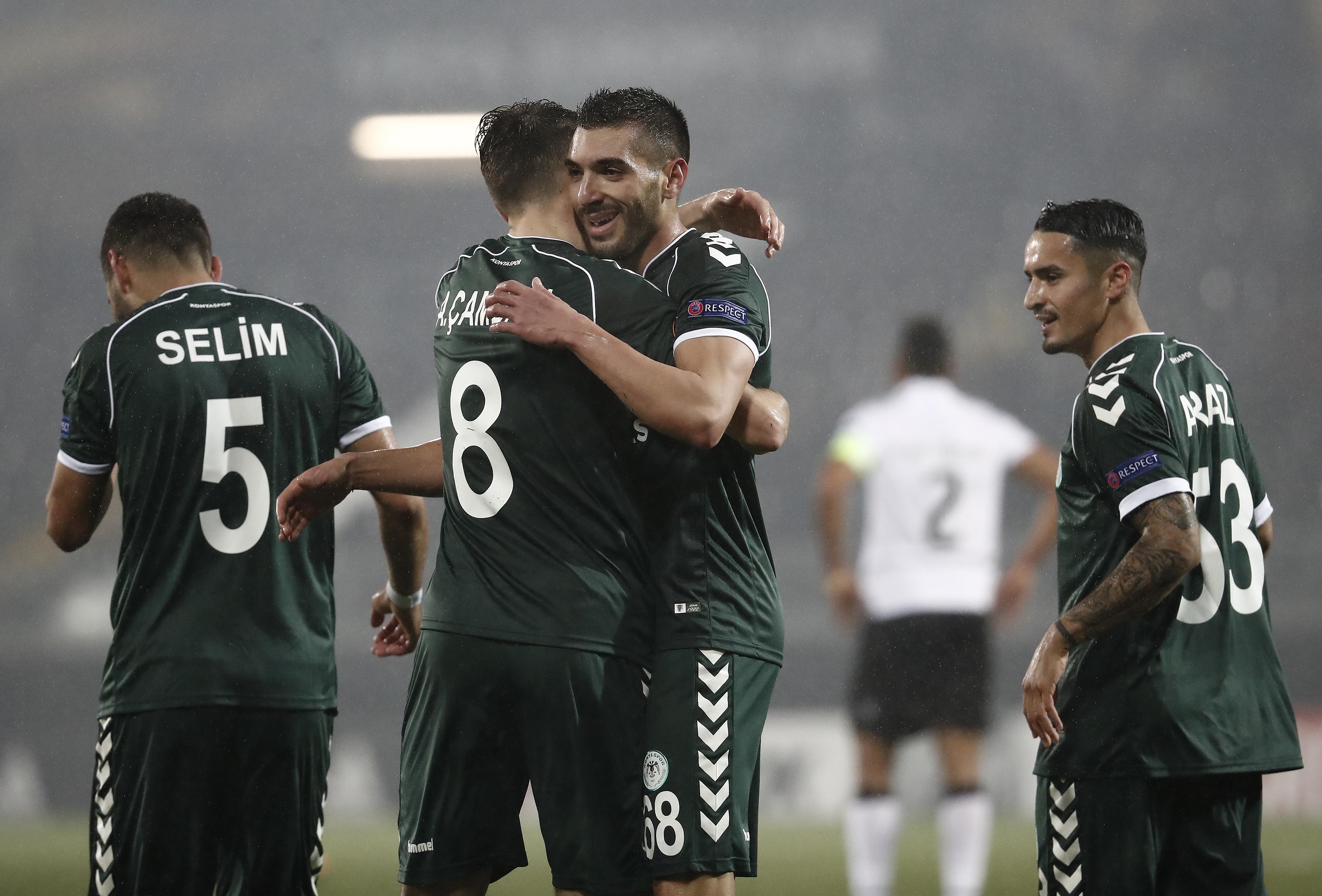 Vitoria Guimaraes-Konyaspor: 1-1