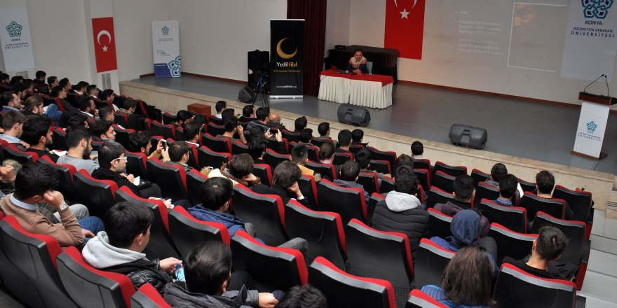 Doç. Dr. Tuğrul Keskin NEÜ'de konferans verdi