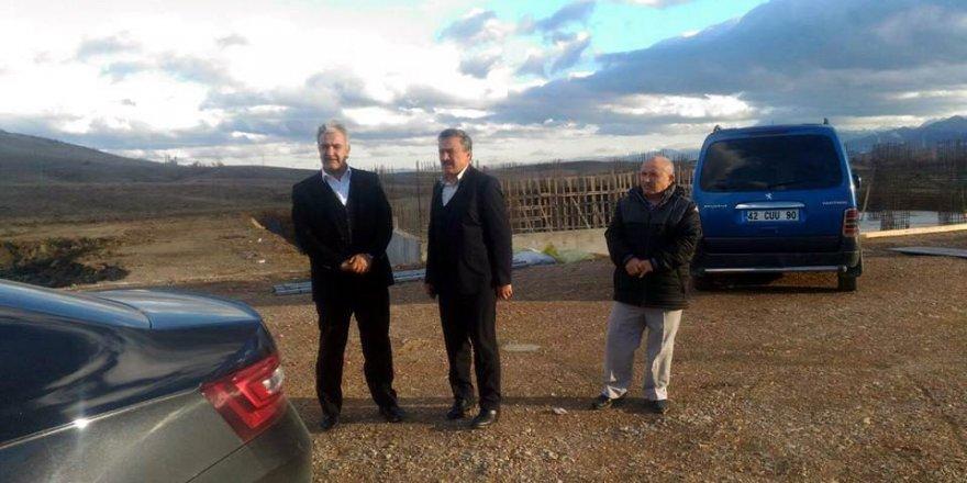 Ağralı, Seydişehir'deki yatırımları inceledi