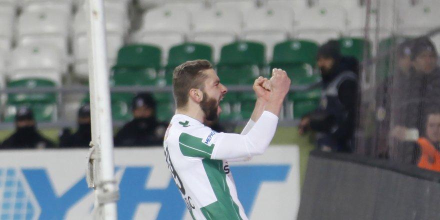 Konyaspor hayata döndü: 2-0