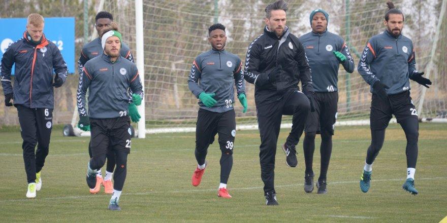 Konyaspor, Batman Petrolspor maçı hazırlıklarına başladı