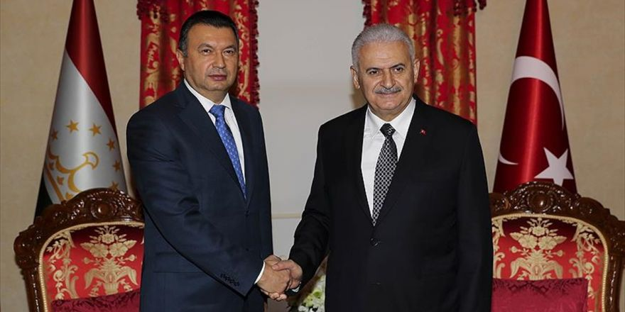 Başbakan Yıldırım-tacikistan Başbakanı Rasulzoda Görüşmesi