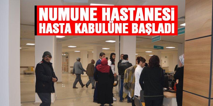 Numune Hastanesi hasta kabulüne başladı