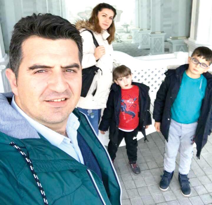 TUTAR AİLESİ KALEHAN ECDAD BAHÇESİ'NDE