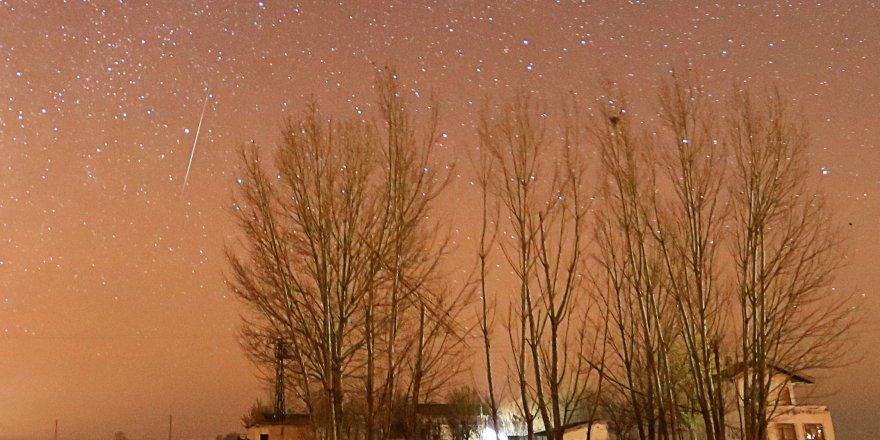 Konya'da Geminid Meteor Yağmuru Gözlendi