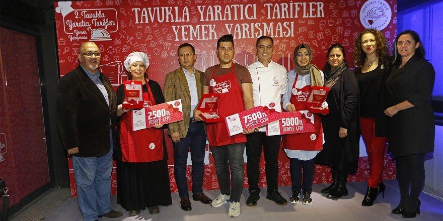 Yemek Yarışması'nda ikincilik ödülü Konya'ya geldi