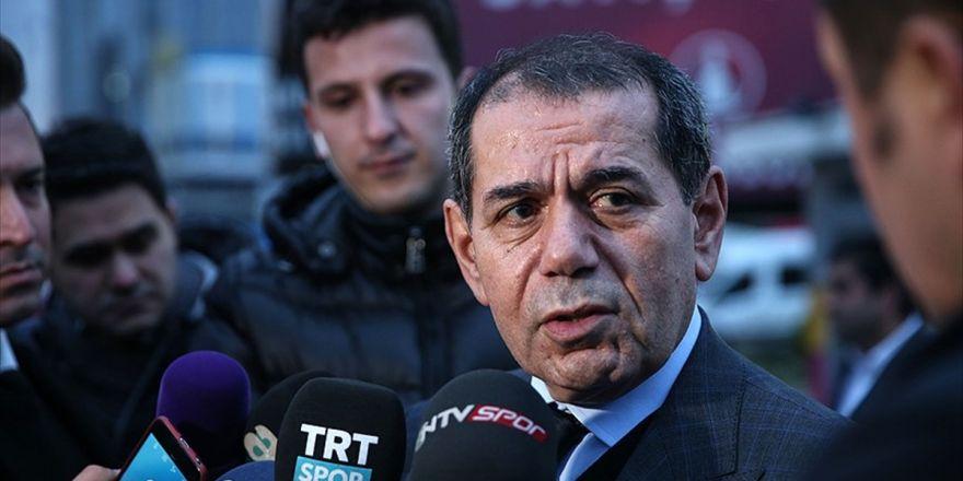 Galatasaray Kulübü Başkanı Özbek: Arda Turan İle Bir Görüşmemiz Yok