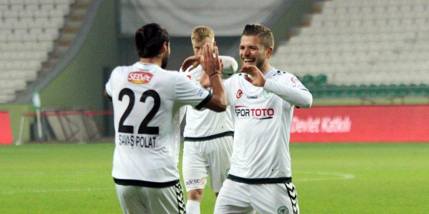 Atiker Konyaspor-Batman Petrolspor: 2-0