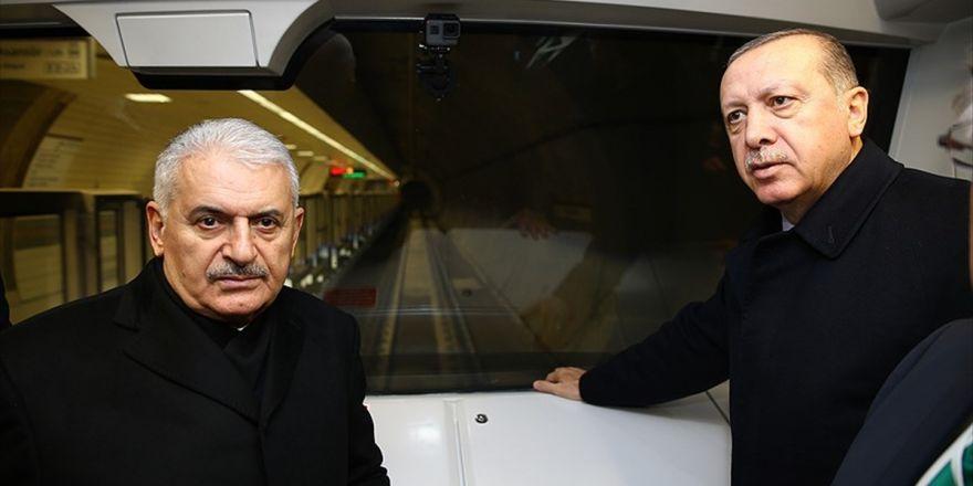 Üsküdar-ümraniye Metro Hattı Açılış Töreni