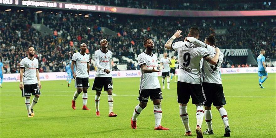 Beşiktaş Zirveye Biraz Daha Yaklaştı