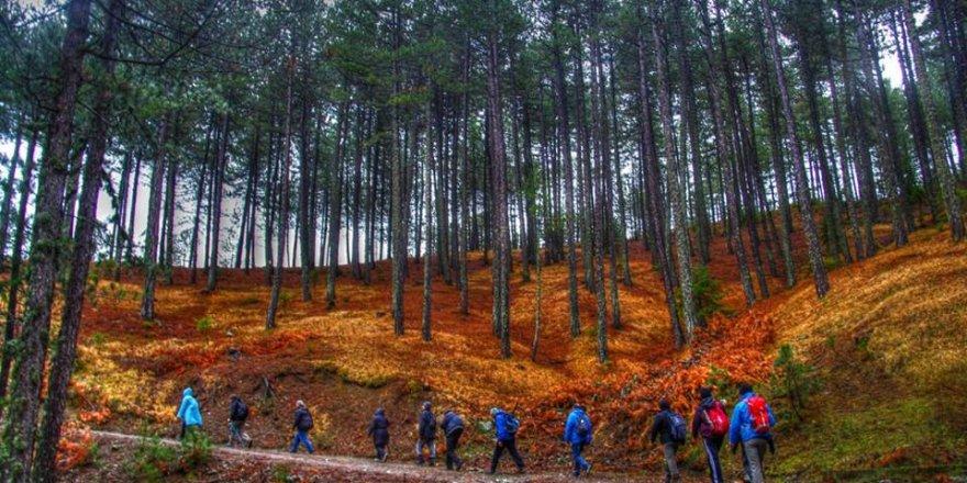Beyşehir'de Doğa Yürüyüşü