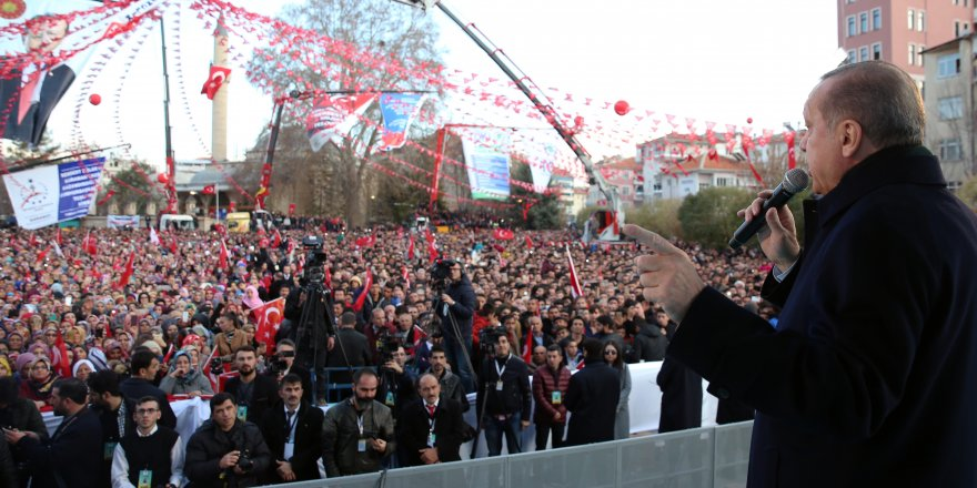 Karaman'dan Erdoğan'a Hayır Duaları