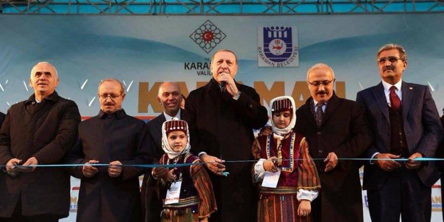 Konuk ve Şeker'den Cumhurbaşkanı Erdoğan'a teşekkür