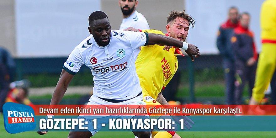 Hazırlık maçı: Göztepe: 1 - Konyaspor: 1