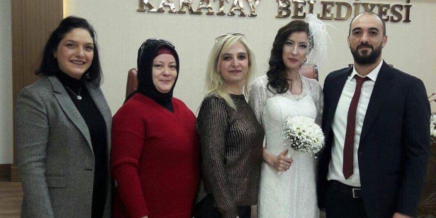 Hacer ile İdris evlendi