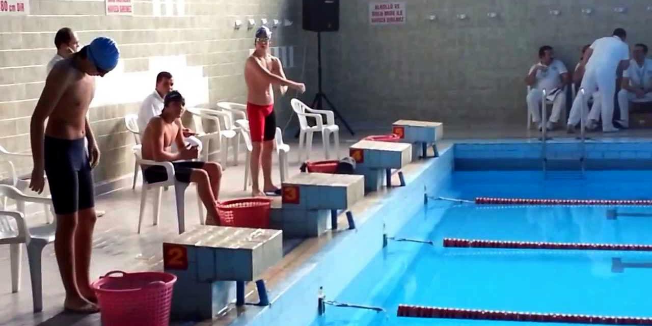 Yüzücüler işbaşında