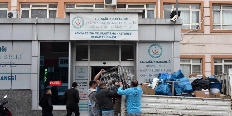 Hastane binası, kentsel dönüşümle yıkılacak