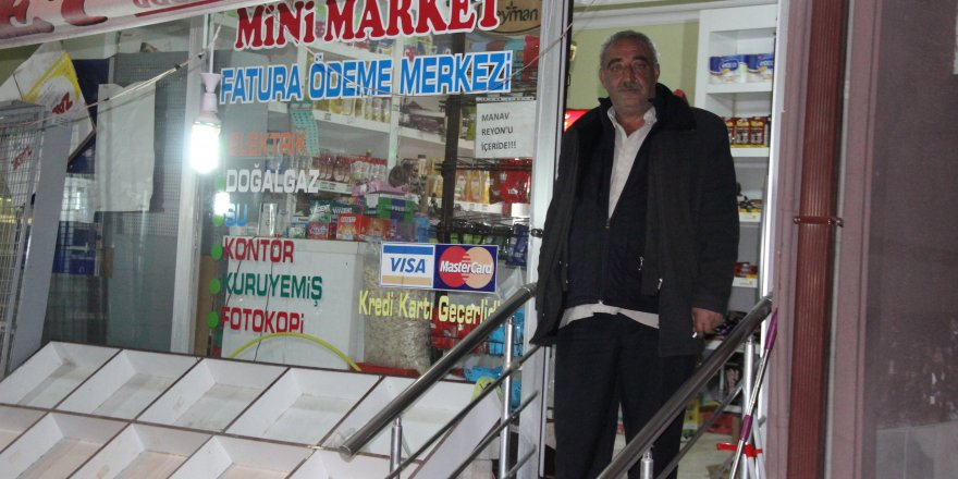 Konya'da marketten 15 bin liralık soygun