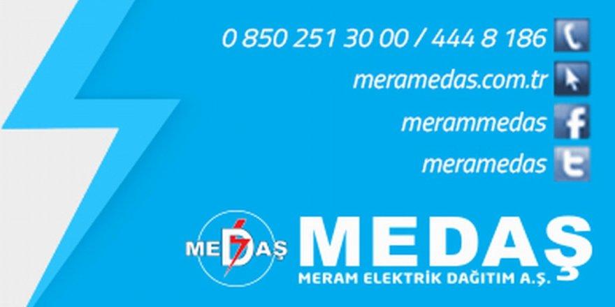 MEDAŞ'tan planlı kesintilerde SMS'li bilgilendirme