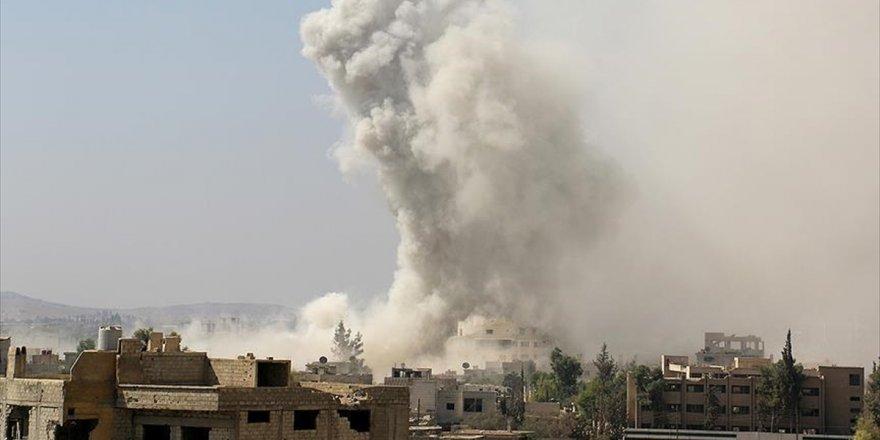İdlib'e Hava Saldırılarında 7 Sivil Hayatını Kaybetti